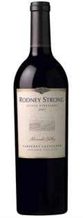 Rodney Strong Estate Alexander Valley...